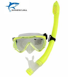 Wonderful Durable Diving Mask and Snorkel Set Colorful Swimming Goggles for kid