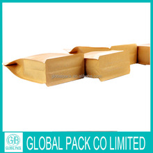 New!!!Hong Kong customized flat bottom coffee bags with valve
