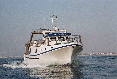 bateau de peche chalutier a vendre