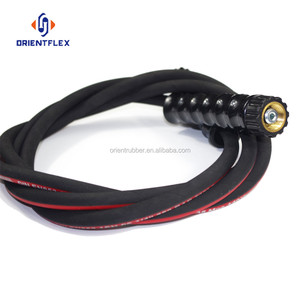 Best seller flex / low temperature resistance water conveying synthetic rubber high pressure steam cleaner hose for sale