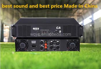 OVS High Efficiency ca9 Professional Power Amplifier, View CA9 CA  professional high power amplifier 600watt, OVS Product Details from  Guangzhou Wanqi