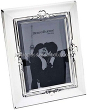 unique angle for wedding decoration and party curve crystal photo frame ,High quality cheap crystal glass free sexy photo frame