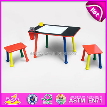 Magnificent Table With Two Stools School Chair For Kids Colorful Wooden Toy School Chair For Children Hot Sale Wooden School Chair Wj278604 Buy School Ncnpc Chair Design For Home Ncnpcorg