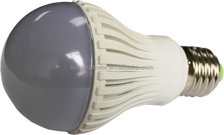 Low price wide angle DC 12V LED light product E27 6W