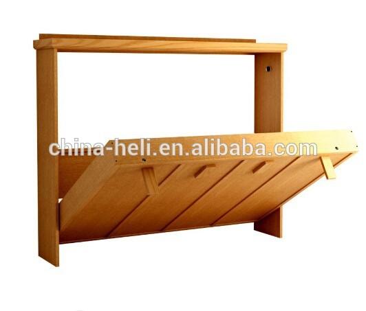 Lit Moderne En Bois Massif : moderne en bois massif lit escamotable-Literie-ID de produit