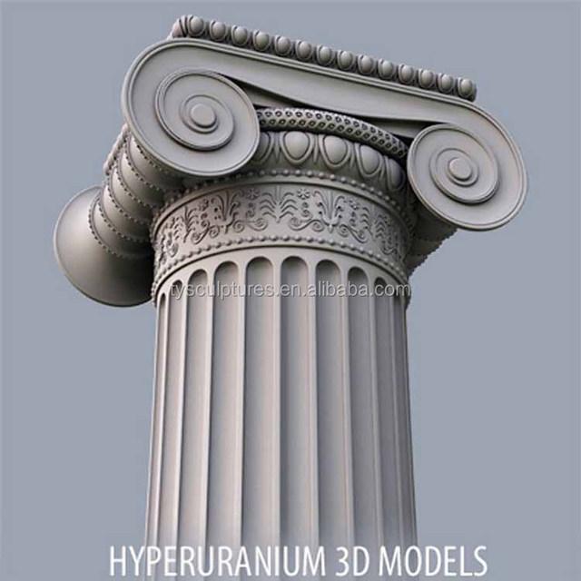 Wedding Decoration Whole Roman Style Stone Marble Columns Pillars For Building Ornament