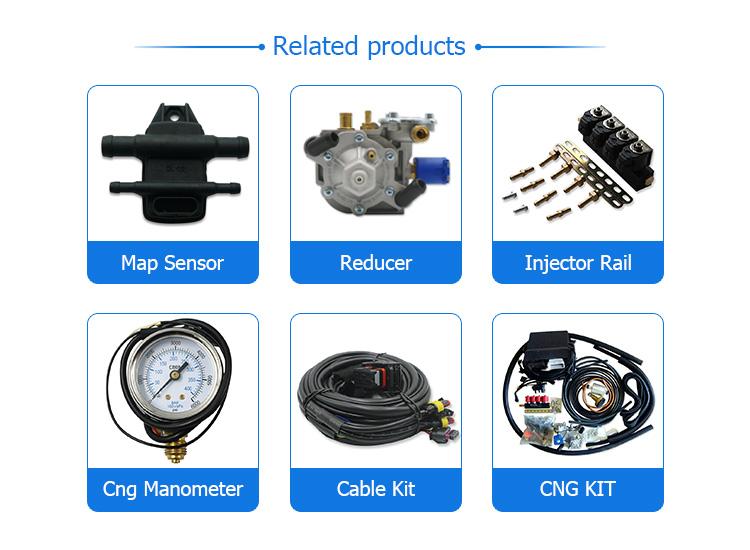 ECU chuyển đổi thiết lập chuyển đổi với phụ tùng thay thế được sử dụng cho cng ngv injector xe