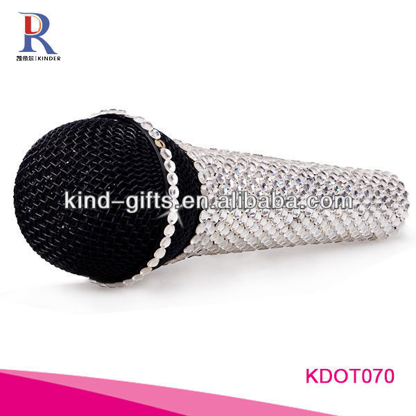 bling fashion design wireless microphone
