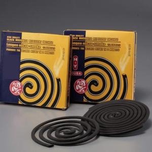 Black Mosquito Repellent Incense Coil