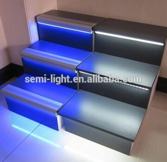 stair nosing led profile aluminium mounting channel buy. Black Bedroom Furniture Sets. Home Design Ideas