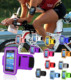 Outdoor Cycling Sports Running Wrist Pouch Mobile Cell Phone Arm Band Bag Wallet