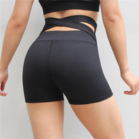 Crossing Back Athletic Sports Walking Bodybuilding Shorts