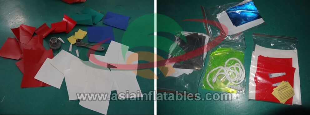 물 놀이 장비 만타 레이 풍선 Towable 비행 스키 튜브
