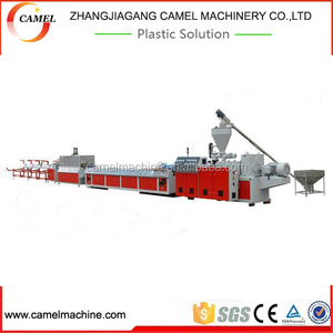 WPC window profile extrusion line/ extruders for plastic profile