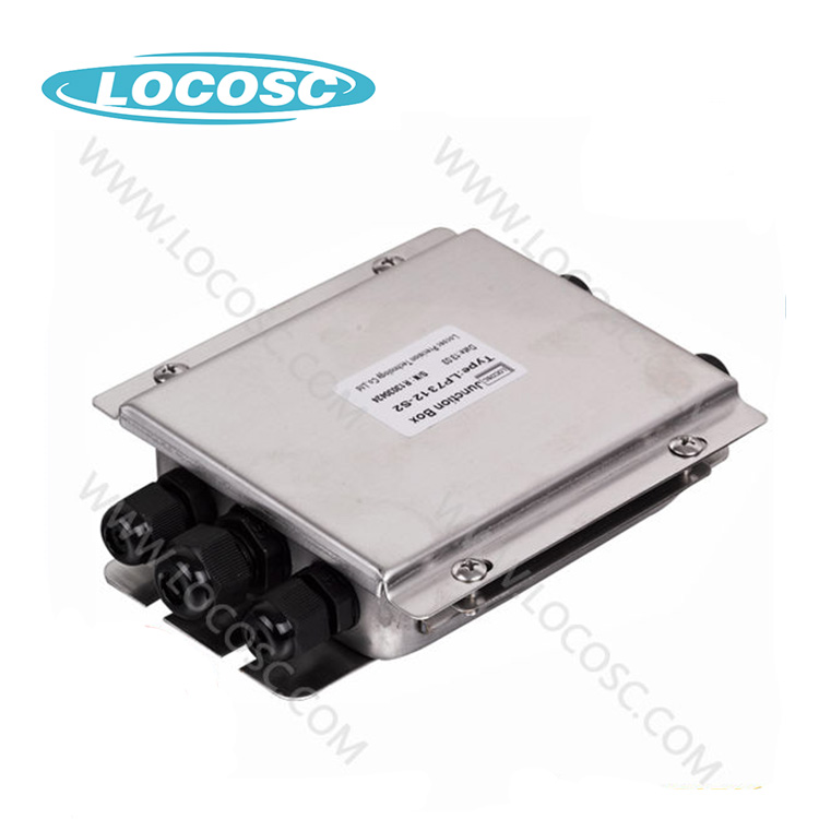 Ip66 Stainless Steel Waterproof Junction Box, zemic Load Cell Junction Box