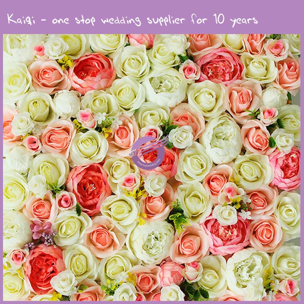 RH00050 artificial plastic flower wall wedding decoration, View ...