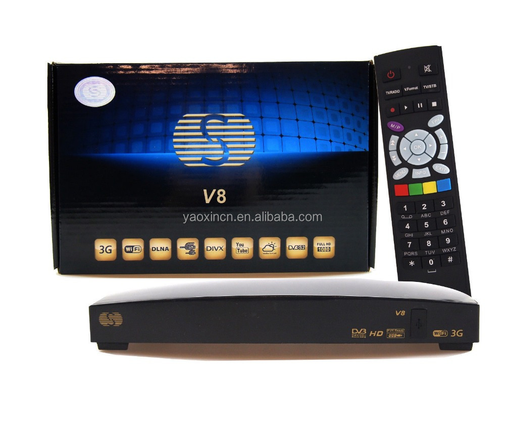S-V8 / V8S Box <strong>HD</strong> <strong>FTA</strong> TV <strong>Satellite</strong> <strong>Receiver</strong> Upgrade F5S V5S