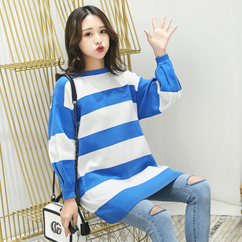 feb2876837a Knitted Maternity Nursing Sweater Autumn Fashion Pullover Clothes for Pregnant  Women Plus Size Slim Pregnancy Clothing