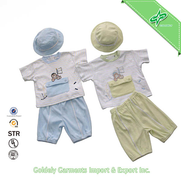 Customized Organic Cotton Baby Clothing In ShenZhen