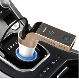 Univeral 4-in-1 CAR G7 FM Transmitter Bluetooth , TF Music Player 3 USB Car charger Bluetooth FM Transmitter