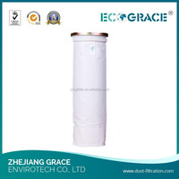 D125 x 4000mm Polyester Filter Bag Bag Filter Gas Disposal