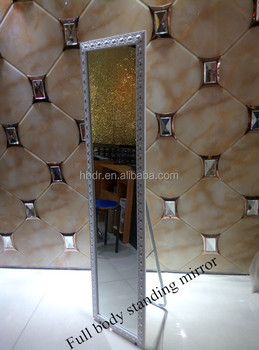 Large Antique Floor Mirrors Free Standing Framed Mirror For Sale