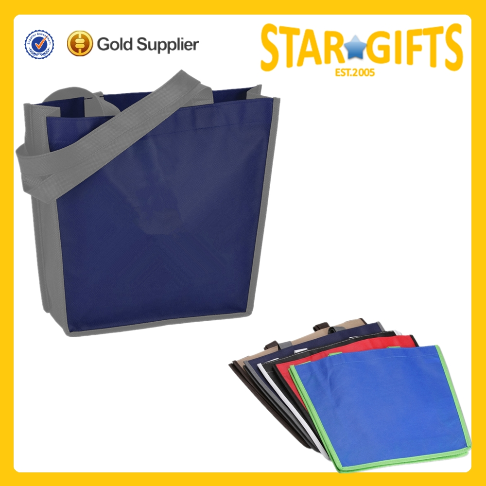 New Promotional Products Cheap Logo Personalized Laminated Non Woven Boat Shopping Bag