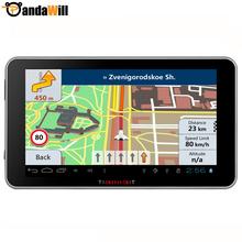 7 Inch Car GPS navigation Android 4.4.2 Bluetooth wifi 8GB navigator navitel/europe Free map sat nav for truck gps vehicle