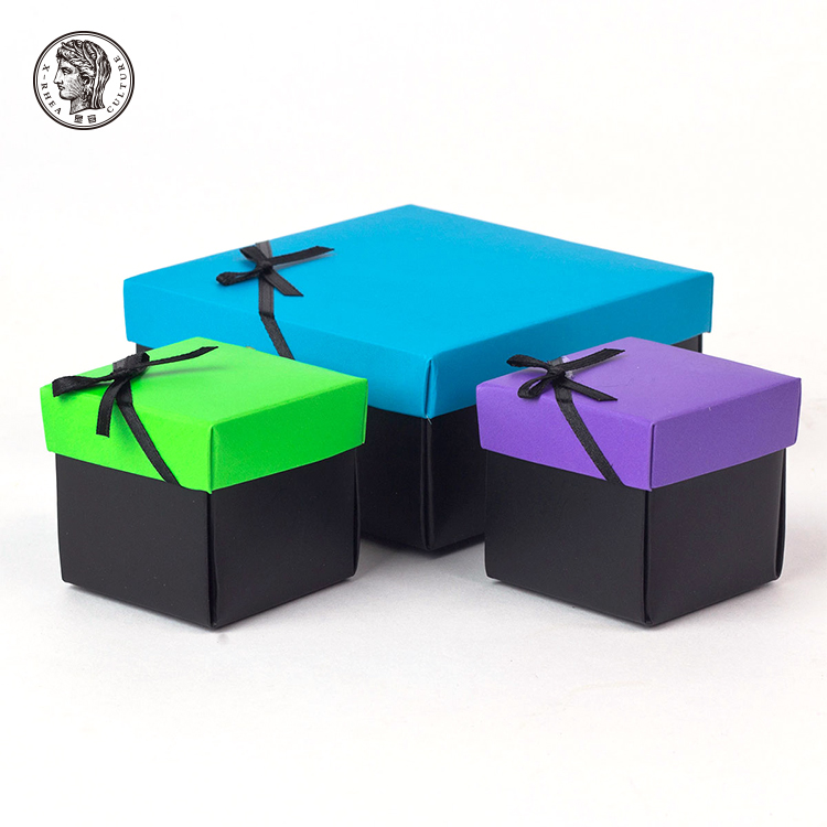 Wholesale Customized Fashionable Multifunctional Bow Tie Gift Packaging Paper Box