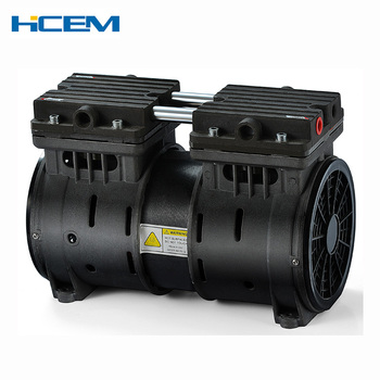 Small Electric Portable Vacuum Pump Silent Oil Free Vacuum Pump