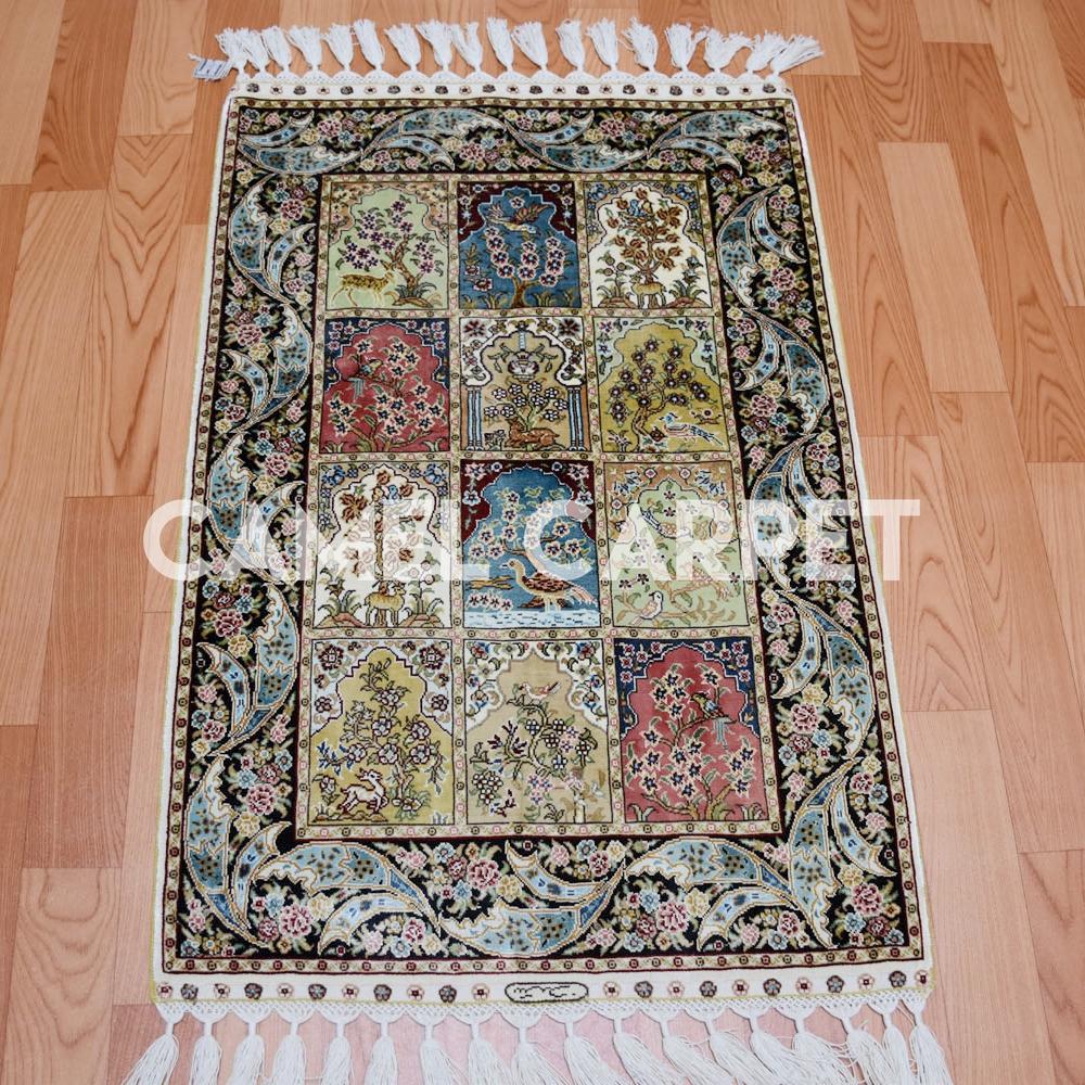 peque o de cuatro estaciones dise o seda persa alfombras