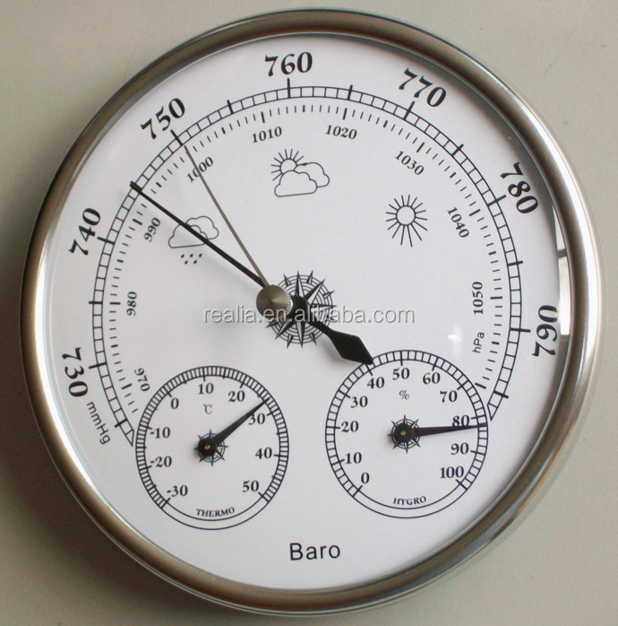 Thermometer hygrometer barometer triad weather stations, multifunction barometer
