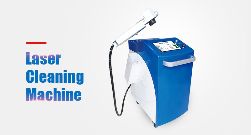 100w 200w 300W 500w 1000w Fiber Laser Metal Cleaning Machine Rust Removal Machine Cheap Price