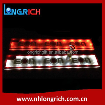 Custom Branded Soft Led PVC Bar Mat For Beer