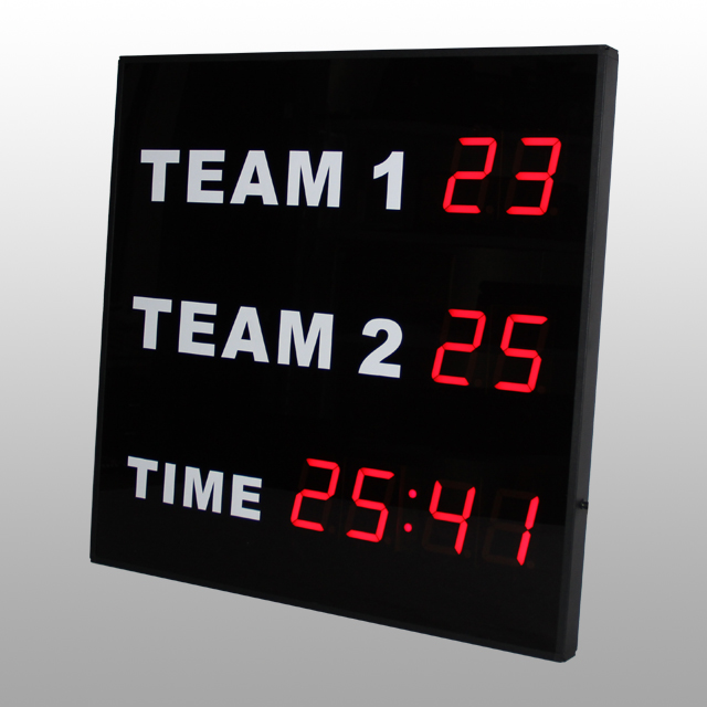 Volleyball / Football / Basketball Scoreboard for Indoor or Outdoor Games