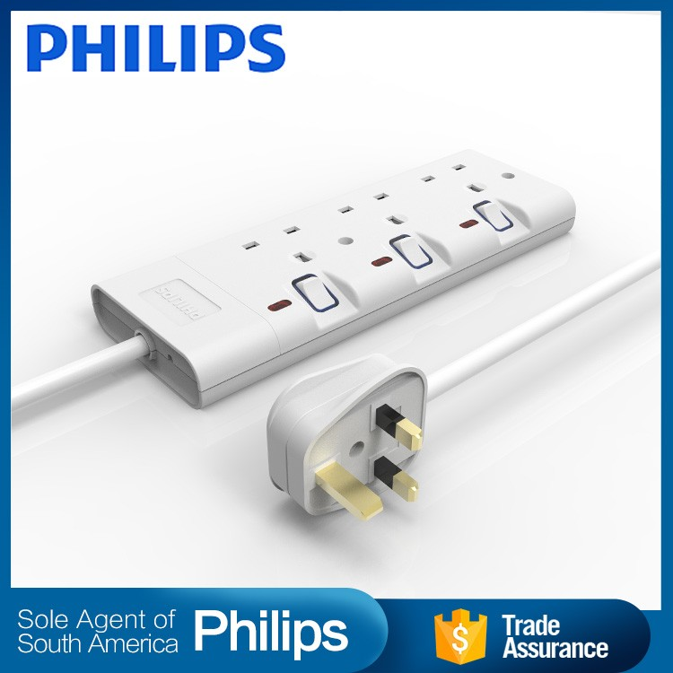 Energy saving philippines type extension cord multiple outlet usb multi function electrical 3-pin plug socket
