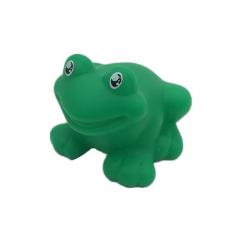 Custom Hot Promotion Gift Green Frog Bath Toy Vinyl Figure