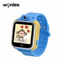 Bambini Anti Perso GPS Tracker Bambini <span class=keywords><strong>SOS</strong></span> per Android Smartwatch Intelligente Orologio Q730 Con WIFI