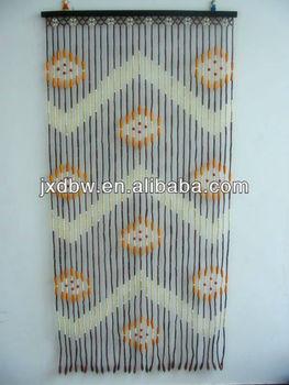 Handmade Latest Designs Wood And Bamboo Bead Door Curtain Blind ...