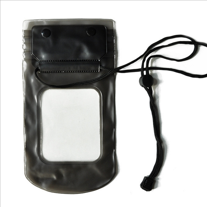 Most wanted products Top grade flotating PVC phone bag waterproof camera case with lanyard