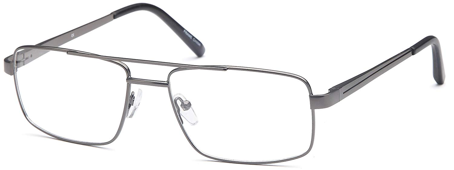 523ddbecae Get Quotations · DALIX Mens Prescription Eyeglasses Frames 56-17-145-38  RXable in Black