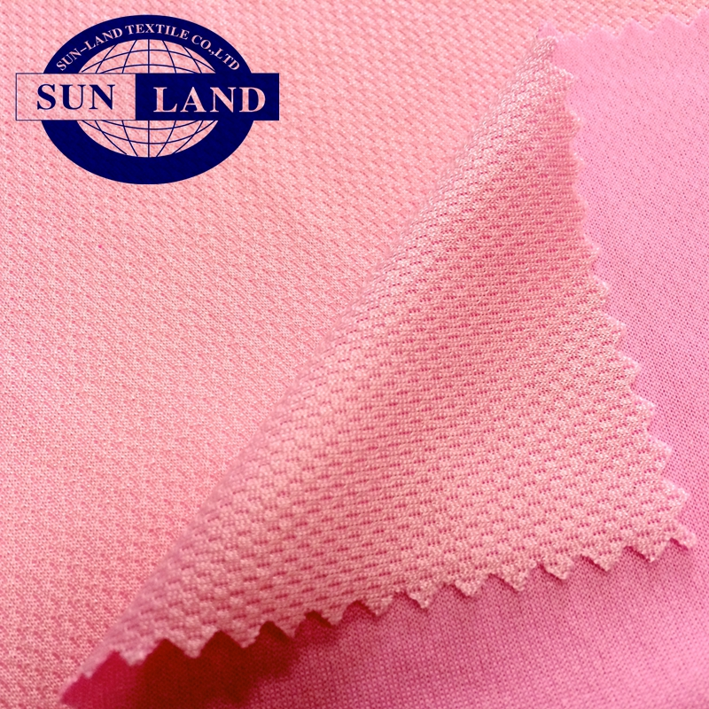 polyester nylon coolness birdeye mesh fabric for summer