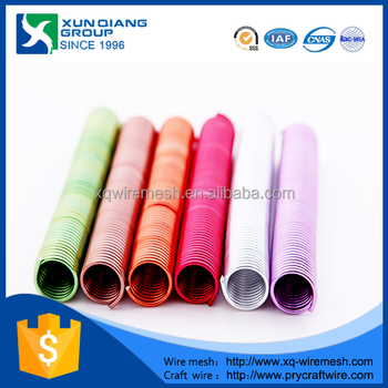 Colored Aluminum Bendable Wire For Crafts Making
