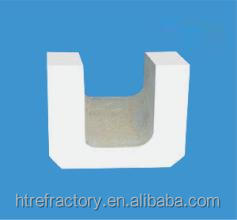 fused-cast zirconia corundum AZS brick burner block