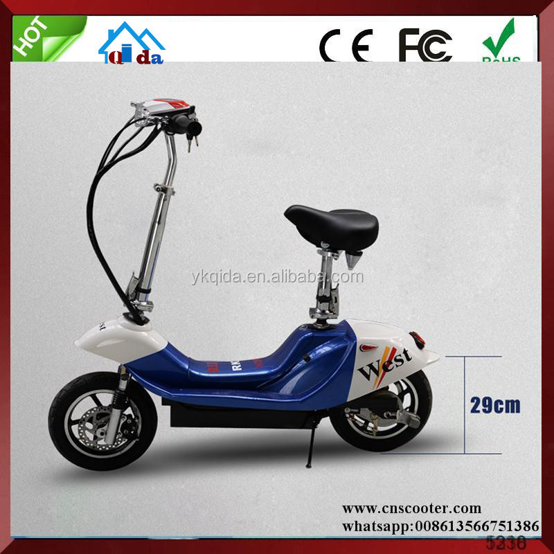 stand up police big wheel electric scooter trike