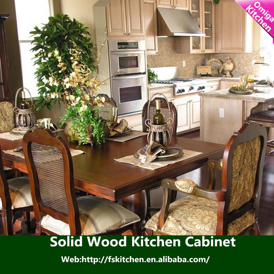 accueil cuisine meubles haut de gamme carr style personnalis en bois massif armoires de. Black Bedroom Furniture Sets. Home Design Ideas