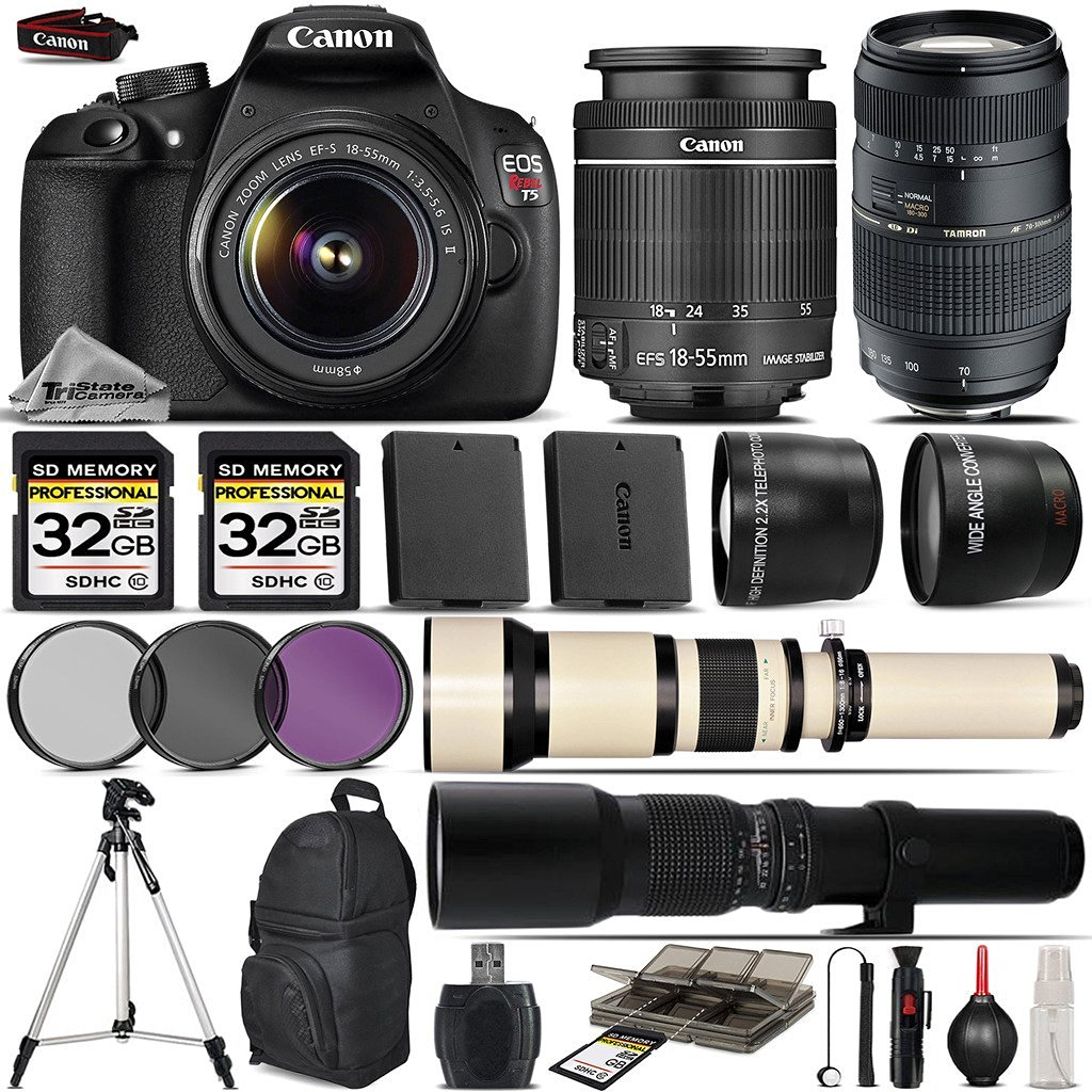 Buy Canon Eos Rebel T5 Dslr Camera Canon 18 55mm Is Lens