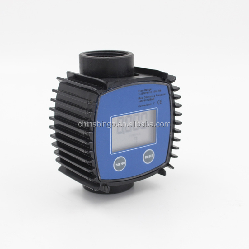 Digital adblue flow <strong>meter</strong> for fuel, oil, diesel indicator controller price