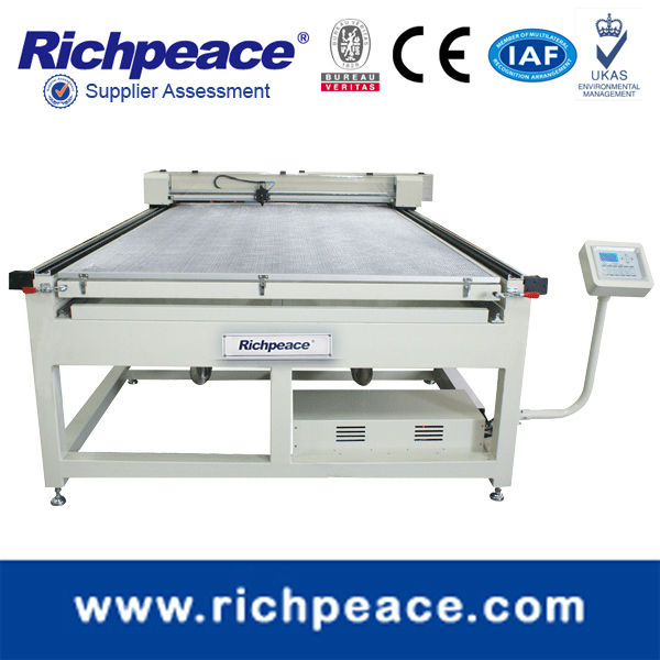 Richpeace Laser Engraving and Cutting Machine Cutter FlatBed for Bigger area