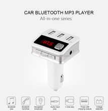 2016 New Product usb flash drive fm transmitter Bluetooth Car MP3 Player